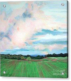 Clouds I Acrylic Print by Lucinda  Hansen