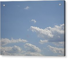 Clouds In The Sky Two Acrylic Print by Daniel Henning