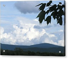 Clouds Acrylic Print by James and Vickie Rankin