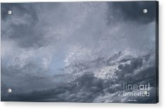 Acrylic Print featuring the photograph Clouds by Megan Dirsa-DuBois