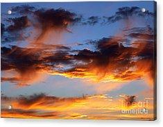 Clouds Acrylic Print by Michal Boubin