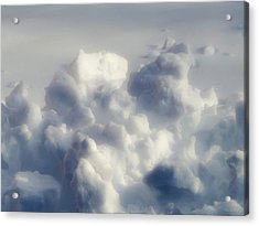 Clouds Of Snow Acrylic Print