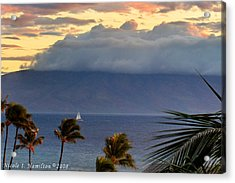 Clouds On The Mountain Top Acrylic Print by Nicole I Hamilton