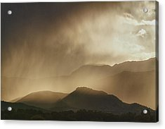 Clouds On The Rocky Mountains Front Range Foothills Acrylic Print by James BO  Insogna