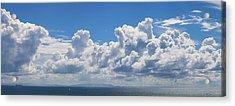 Clouds Over Catalina Island - Panorama Acrylic Print