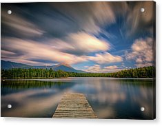 Clouds Over Daicey Pond Acrylic Print