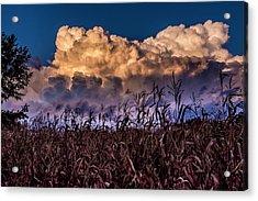 Clouds Over Fagagna Acrylic Print
