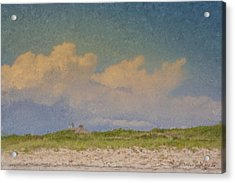 Clouds Over Goosewing Acrylic Print