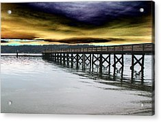 Clouds Over Illahee Acrylic Print by Tim Allen