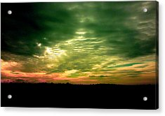 Clouds Over Ireland Acrylic Print