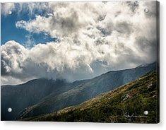 Clouds Over Mount Washington 7592 Acrylic Print