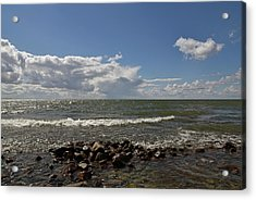 Clouds Over Sea Acrylic Print
