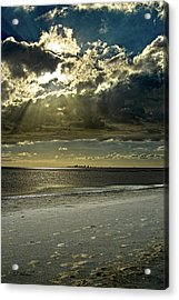 Clouds Over The Bay Acrylic Print by Christopher Holmes
