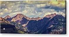 Clouds Over The Gore Range Acrylic Print