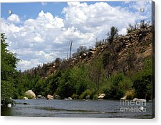 Clouds Over The Kern Acrylic Print