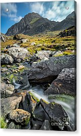 Clouds Over Tryfan Acrylic Print