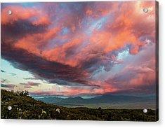 Clouds Over Warner Springs Acrylic Print