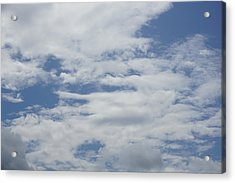 Clouds Photo II Acrylic Print