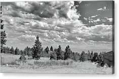 Clouds Roll In Acrylic Print