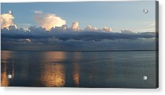 Clouds Acrylic Print by Steven Scott