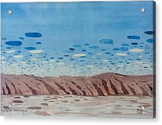 Clouds Swimming Acrylic Print by Vaughan Davies