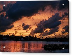 Acrylic Print featuring the photograph Cloudscape by Laura Fasulo