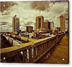 Cloudy Birmingham Acrylic Print