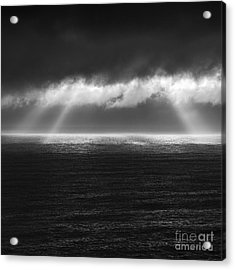 Cloudy Day At The Sae Acrylic Print