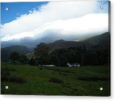 Cloudy Hills Acrylic Print