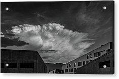 Cloudy Sky Over Bolzano Acrylic Print