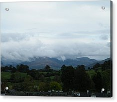 Cloudy View Acrylic Print