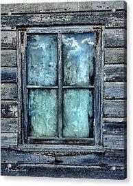 Cloudy Window Acrylic Print