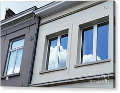 Cloudy Windows Acrylic Print