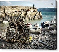 Clovelly Crab Trap Acrylic Print