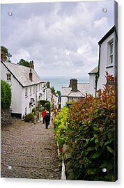 Clovelly High Street Acrylic Print