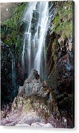 Clovelly Waterfall Acrylic Print