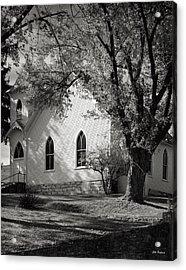 Clover Hollow Church Acrylic Print