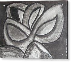 Clover Leaf Acrylic Print by Marsha Ferguson