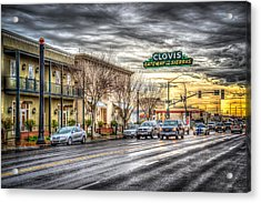 Clovis California Acrylic Print by Spencer McDonald