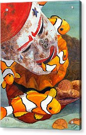 Clown Fish Acrylic Print by Catherine G McElroy