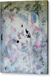 Clown In The Clouds Acrylic Print