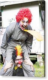 Clowning Around Acrylic Print by Jorgo Photography - Wall Art Gallery
