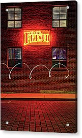 Club Frisco Motion - Rogers Arkansas Usa Acrylic Print