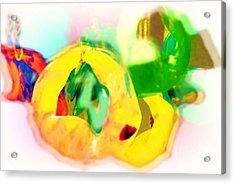 Cluster Acrylic Print by Deborah MacQuarrie-Selib