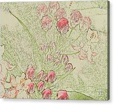 Cluster Acrylic Print