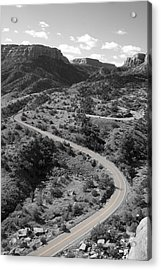 Cnm Switchbacks Acrylic Print