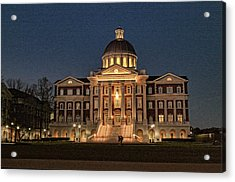Christopher Newport Hall At Christopher Newport University Acrylic Print