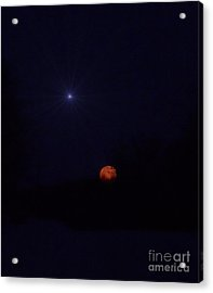 Co-starring Acrylic Print by The Stone Age