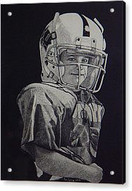 coach am I up Acrylic Print by Ron Sylvia