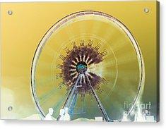 Coachella Music Festival 2015 Acrylic Print by Art K